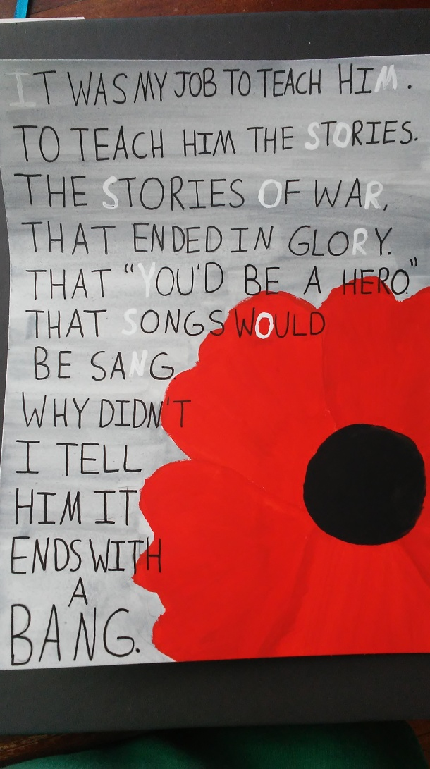 ww1 poem